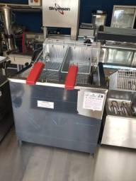 Fritadeira água e óleo Progas mesa
