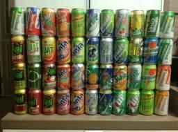 237c54fa9a 90 latas de Refrigerantes e afins - Colecionador