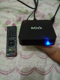 Aparelho tv box mx9