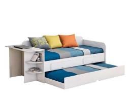 Sofá cama com escrivaninha Helena