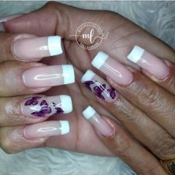 Alongamento de unhas - Manicure