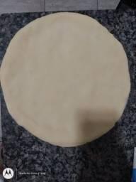Massas de pizza pre assadas