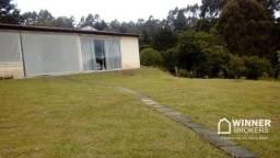 Chácara com 1 dormitório à venda, 2400 m² por R$ 295.000 - Vila Franca - Piraquara/PR