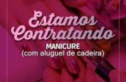 Manicure com experiência