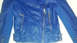 Jaqueta azul linda