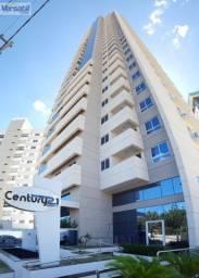 Melhor flat mobiliado no Century21, andar alto, vista sul, confira!!!