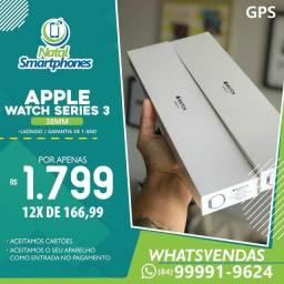 Apple Watch SERIE 3 - 38MM ( PRETO, BRANCO ) GARANTIA 12 MESES ( NOTA FISCAL )