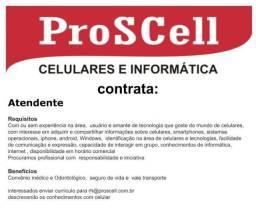 Contrata-se Atendente Loja de Celular