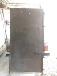 Porta de chapa de ferro