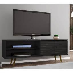 """Rack Onixi R782 p/ TV até 55"""" pé em madeira massissa - 1,60 m"""