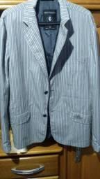 Vendo um brezer usando uma vez tamanho 50  e uma jaqueta de couro vei da América