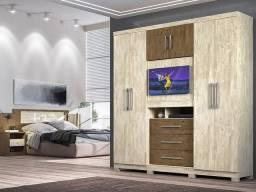 Título do anúncio: Guarda Roupa Dubai Plus - Moval (Produto novo na caixa)
