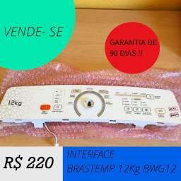 Interface Brastemp 12kg BWG 12