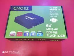 Tv Box 5 G novo