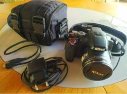 Câmera Fotográfica Semi-Profissional p510 Nikon Coolpix Seminova