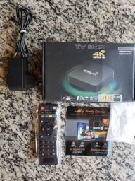Receptor tv box mxq-4k ultra hd - 5g