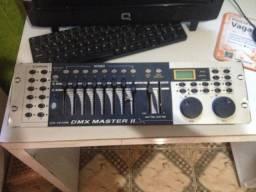 Mesa Controladora Digital Dmx master II Para Iluminação