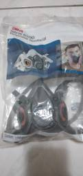 Respirador semifacial série 6200 + filtro 3m 200.00