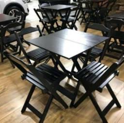 Queima de Estoque Mesas e Cadeiras 70x70