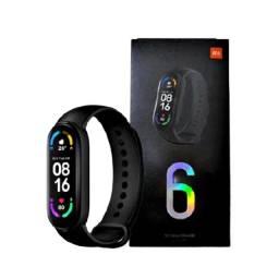 Smartwatch Xiaomi Mi Band 6 Global Smartband Lacrada e Original Conectar ao Celular