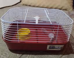 Título do anúncio: Gaiola para pequenos roedores + casal de camundongos