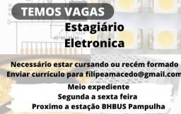 Título do anúncio: Vaga estagiário Eletrônica