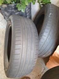 Vendo 4 pneus aro 18 em condições de uso...