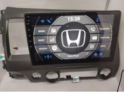 Título do anúncio: Imperdível Multimídia Honda Civic 2005/2012  plug-in play GPS 10 Pol 16gb ROM Android 10