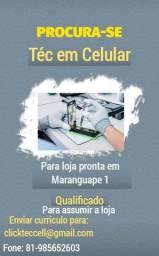 Título do anúncio: PROCURO URGENTE TEC EM CELULAR