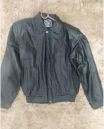 Jaqueta masculina tamanho M couro bovino