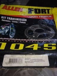Kit relação xl 125-s aço 1045
