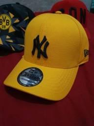 Boné NY Amarelo
