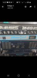 Amplificador Potencia Oneal Op-8000