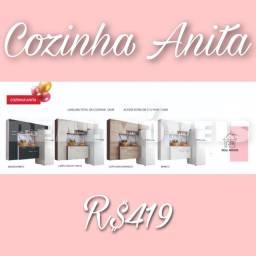 Armário de cozinha Anita armário de cozinha Anita 009828 armário armário 0000