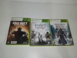 Jogos de Xbox 360 (leia a descrição)