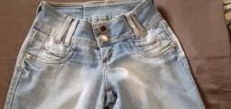 Calças Jeans femininas Semi-Nova - Diversos tamanhos e modelos