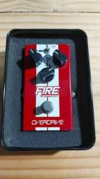 Pedal Overdrive Fire Custom Shop