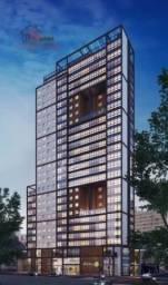 Apartamento à venda com 1 dormitórios em Centro, Curitiba cod:15710