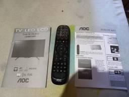 Controle Remoto e Manuais TV Aoc LE58D1441/20