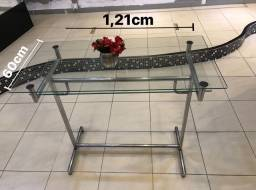 Título do anúncio: Mesa vidro para loja