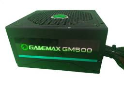 Título do anúncio: Fonte GAMEMAX500w 80 Plus bronze