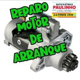 Título do anúncio: Reparos em motor de Arranque