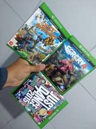 Jogos Xbox one em estado de novo