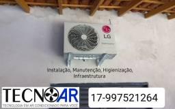 Título do anúncio: Tecnoar.....ar Condicionado, segurança eletrônica e energia solar
