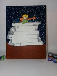 Quadros decorativos pintados a mão