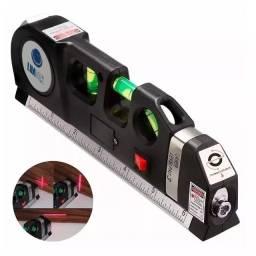 Nível com Laser Alcance 8m Super Prático Novidade