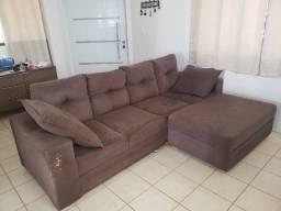 Sofá 2,55m com chaise