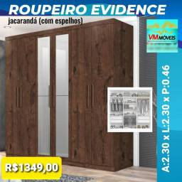 Título do anúncio: Raça Guarda-Roupas Evidence Promoção Só Hoje Entregamos e Parcelamos no Cartão