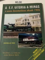 Livros Memória do Trem