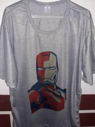 Camisa Iron Man T-GG